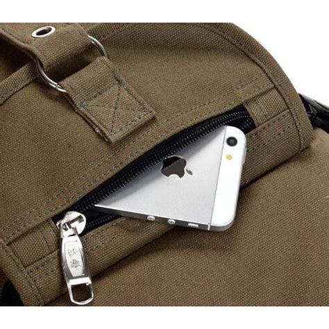 Tas Ransel Multi dongnuo tas ransel backpack multi slot black