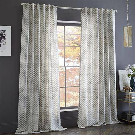 west elm curtains sale cotton canvas sted dots curtain west elm