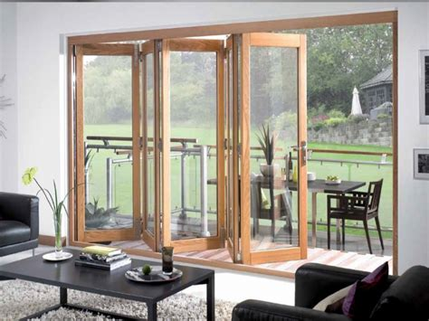 Tri fold doors external, folding sliding exterior doors
