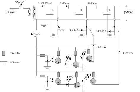 no capacitor coil gun switches can i use a silicon controlled rectifier to discharge a capacitor electrical