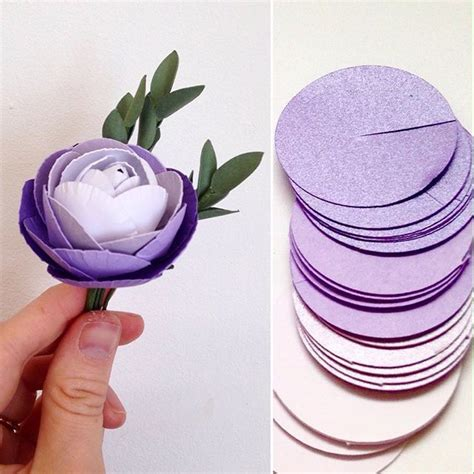 How To Make Flat Paper Flowers - 842 best diy crafts and ideas with paper images on