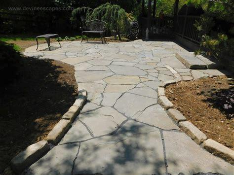 flagstone patios   traditional stone masonry   natural