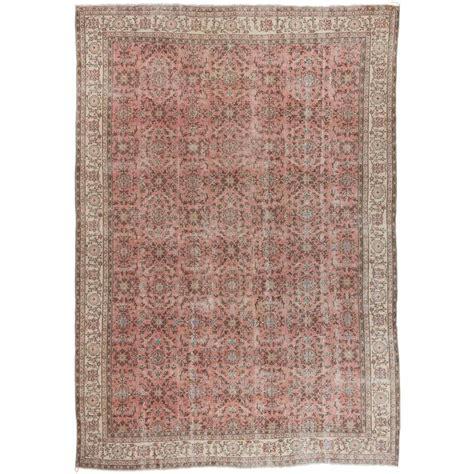 large pink rugs large kayseri rug in pink for sale at 1stdibs