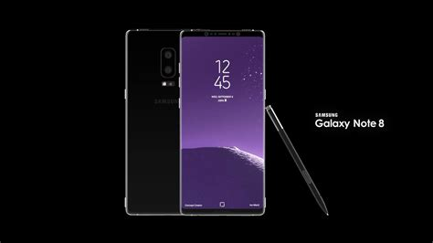 Samsung Note 8 Samsung Galaxy Note 8 Rendered And Modelled By Ivo Maric