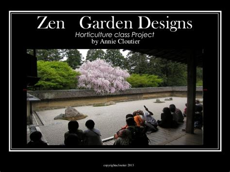 zen garden design planning for high school horticulture
