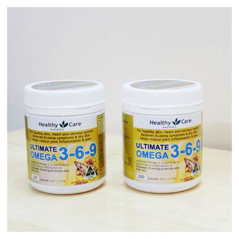 Healthy Care Omega 369 200 Caps omega 369 healthycare ultimate hộp 200 vi 234 n của 218 c