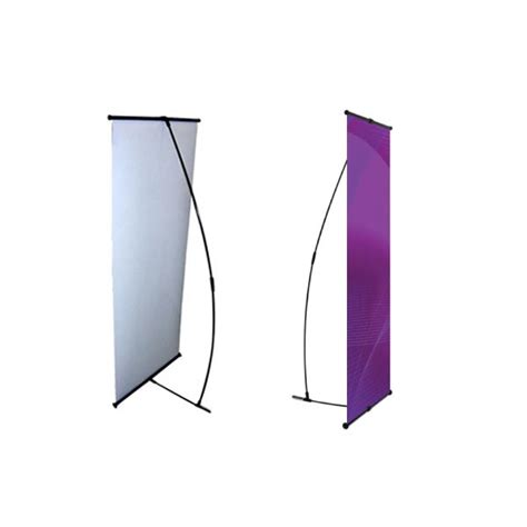 The L Stand by L Banner Stand 24 Quot Trade Show Banner Stands Portable