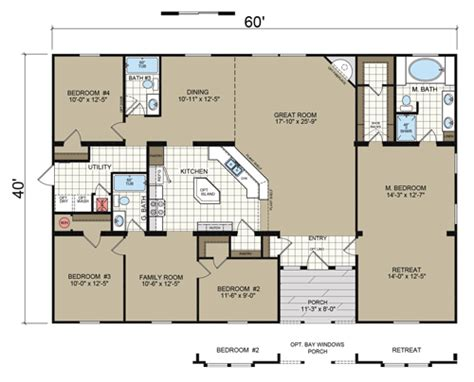 Champion Homes Floor Plans by Champion Multi Section Series 1st Choice Home Centers