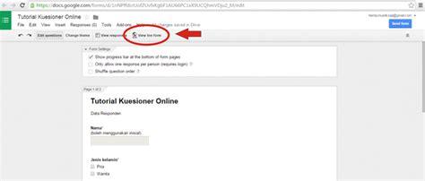 cara membuat kuesioner menggunakan google 6 jika semuanya sudah ok kini saatnya anda mengirim link