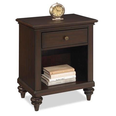 night table ls home depot prepac astrid 1 drawer espresso nightstand ednh 0401 1