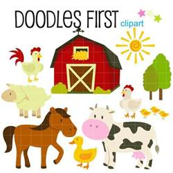 Barn Animals Clipart 1000 images about nursery toys on coloring pages for card and animales