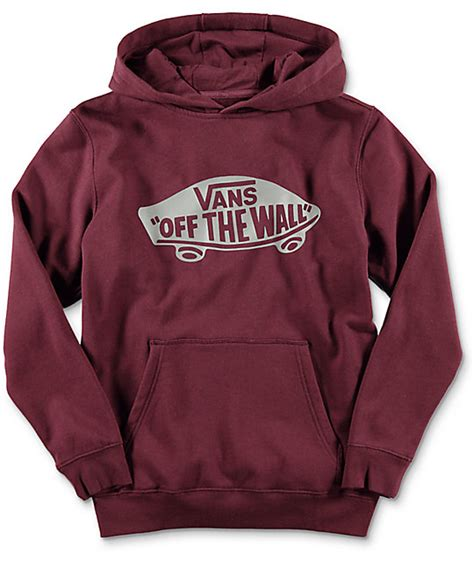 Hoodie Sweater Jumper Vans Of The Wall vans the wall port youth hoodie at zumiez pdp