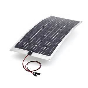 40w mono semi flexible pv solar panel solarpower