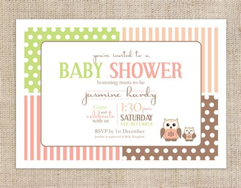 sle baby shower invitations templates items similar to printable baby shower invitation template