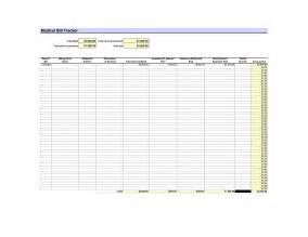 Bill Tracker Template bill tracker template