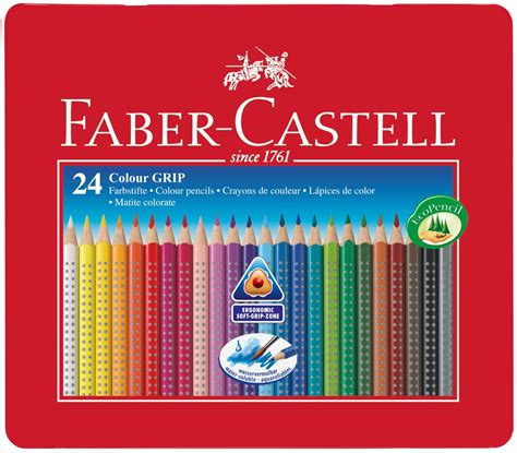 Pencil Warna Faber Castell 24 Warna Water Colour faber castell 24 colour grip pencils gallery