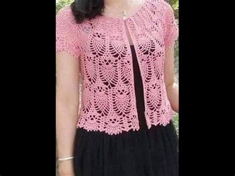 chaleco crochet para mujer abierto con botones paso a paso blusa abierta de pi 241 as parte 1 youtube
