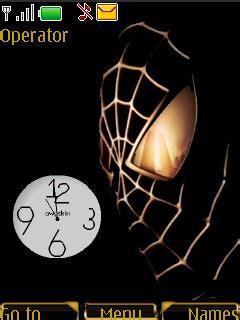 themes swf clock download swf spiderman clock nokia theme mobile toones