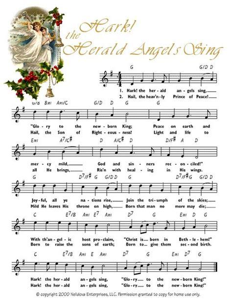 christmas carol printable 7 best images of free printable christmas carols sheet