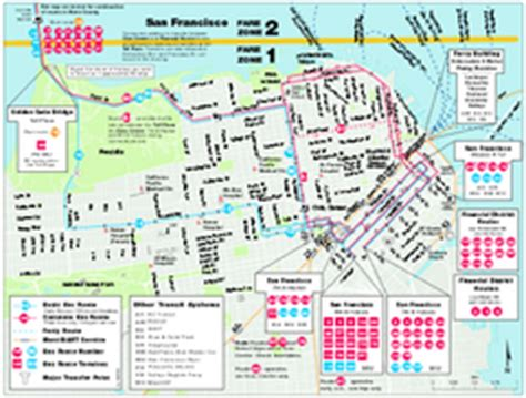 san francisco muni map pdf real map collection mappery
