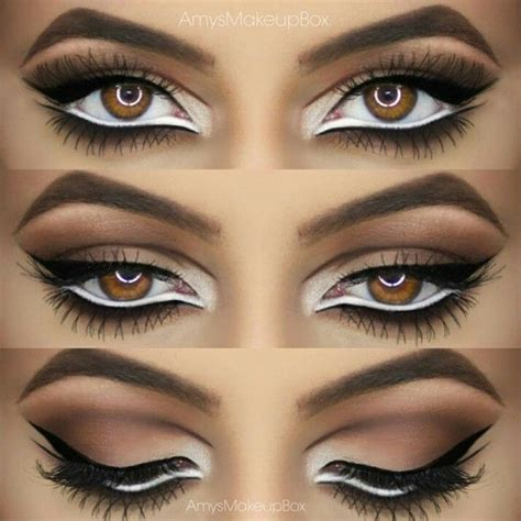 tutorial eyeliner white best 25 intense eye makeup ideas on pinterest black