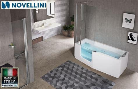 vasca da bagno con sedile vasca da bagno angolare con sportello e sedile per anziani