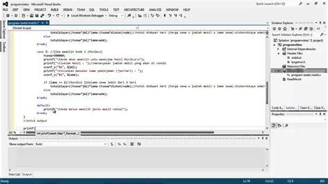 tutorial pemrograman web youtube tutorial pemrograman aplikasi rental mobil dengan fungsi