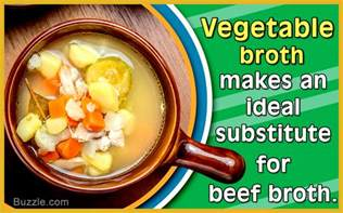 6 extremely delectable substitutes for beef broth you