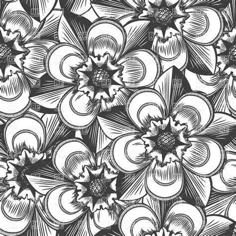 clipart vintage style floral pattern vintage floral seamless pattern in style royalty