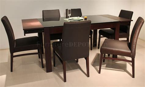 dt305 dining table by at home usa in brown w options