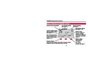 honeywell rth6300b programmable thermostat operating manual honeywell wiring diagram free