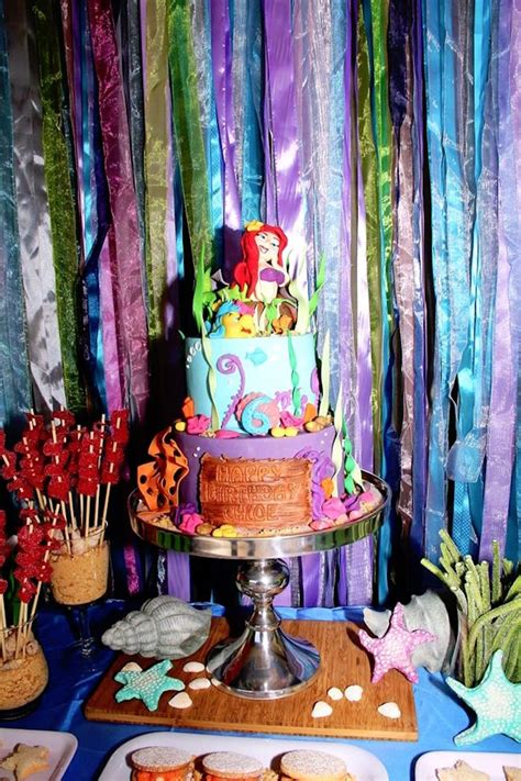 mermaid supplies mermaid birthday kara s ideas ariel the