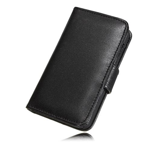 Iphone 55s Flip Pu Leather Wallet Cellphone Cover New Design buy card holder flip wallet leather cover skin for