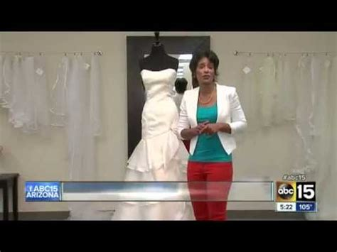 tg friendly bridal shops this is from a report that aired on abc 15 knxv the