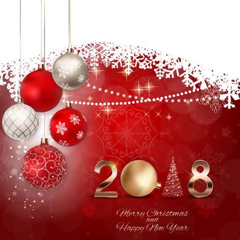 year  christmas card  snow lace vector