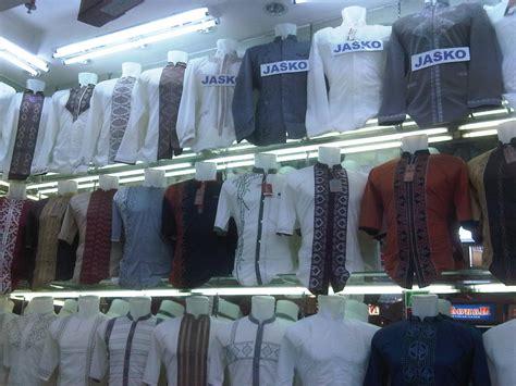 Baju Koko Pasar Tanah Abang dihargai rp 130 ribu jas koko jokowi jadi tren baru di tanah abang
