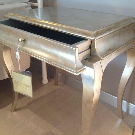 comodini argento comodino giusti portos modello ren 232 in legno finitura