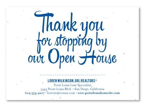 real estate open house thank you letter real estate open house thank you letter 28 images open house thank you cards open