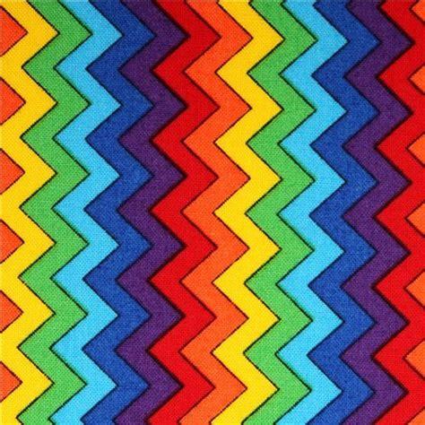 Ikat Armchair Zig Zag Chevron Fabric Multicolor Timeless Treasures Fabric