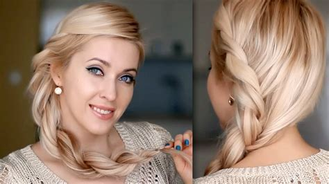lilith moon josephine hairstyle tutoriol everyday hairstyle for long hair twisted rope braid