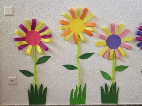 Basteln Kindergarten Frühling by Fr 252 Hlingsblumen Basteln Mit Kindern Raum Und M 246 Beldesign