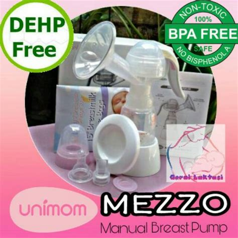 Unimon Mezzo Manual Breastpump Pompa Asi promo pompa asi unimom mezzo manual breastpump shopee