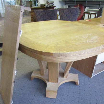 Solid Wood Dining Table With Leaf Lot Detail Solid Wood Dining Room Table W Leaf