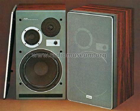 Speaker Vishiba aurex ss 470s speaker p toshiba corporation tokyo build