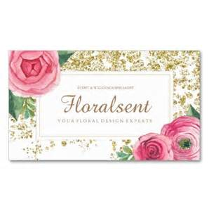 beautiful watercolour floral business cards ladyprints