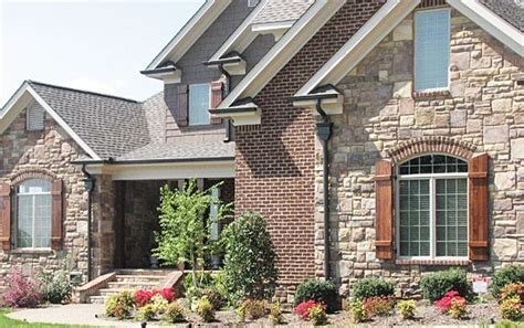 home exterior design brick and stone brick and stone veneer exterior home photos combine