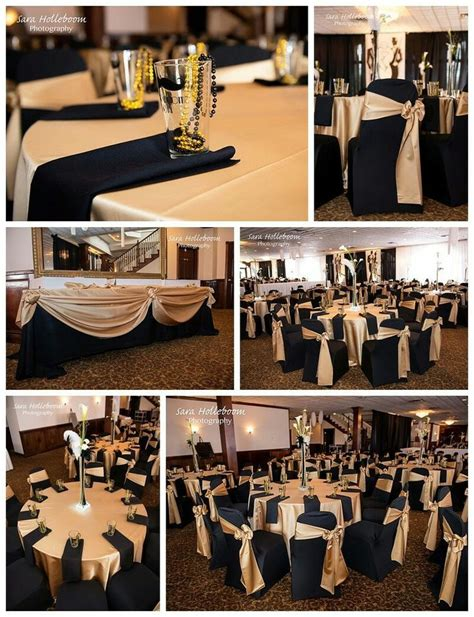 black and gold table great black and gold tables for a wedding or a 80th