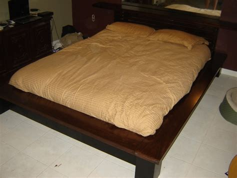Make Your Own Platform Bed Frame How To Make A Platform Bed With Headboard