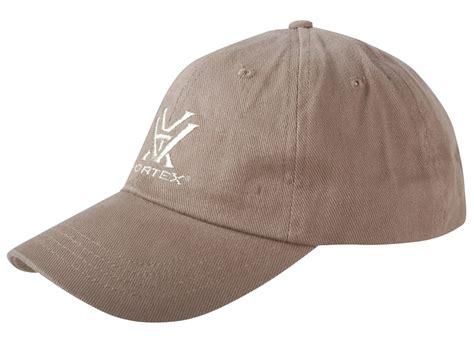 vortex optics logo cap brown cotton mpn hat br