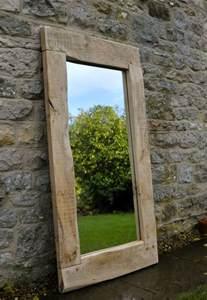 oak framed bathroom mirrors large mirror handmade oak frame traditional rustic